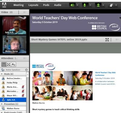 World Teachers Day Web Conference photo 1